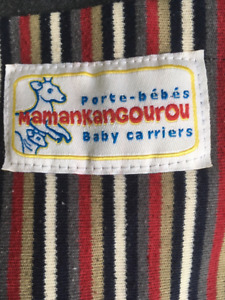 Maman Kangourou  and Peanut Shell Baby carriers