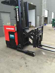 FORKLIFT NARROW AISLE REACH and STAND UP FORKLIFTS