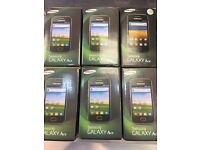 SAMSUNG GALAXY ACE BRAND NEW BOXED UNLOCKED WITH WARRANTY AND RECEIPT