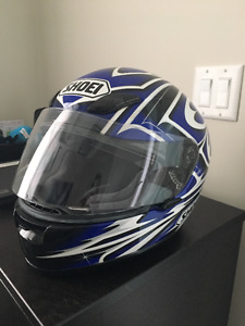 SHOEI helmet , Icon jacket and gloves
