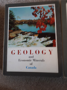 Geology & Minerals Canada Text and 12 large color maps