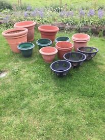 Planters/ Tubs/Hanging baskets