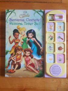 Livre Disney La fee Clochette