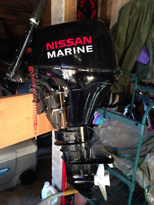 Used 2007 Nissan Outboard Motor NSF8/9.8