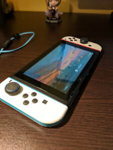 Hacked Nintendo Switch (running CFW) (With Smash Ultimate)