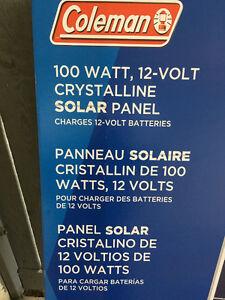 Coleman 100 watt Crystalline Solar Panels