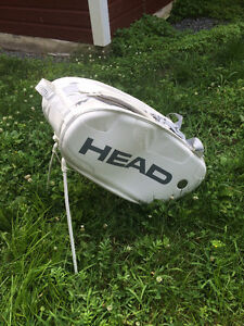 gros Sac de tennis HEADS à 3 sections + stand