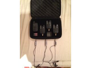 Crafty fox alarms and receiver matching illuminated hangers