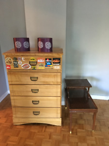 Assorted Furniture pieces for sale!