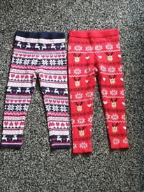Girls TU winter leggings