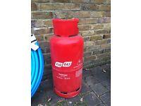 Propane Gas Bottle 19kg + Regulator (empty)