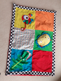 Couourful play mat