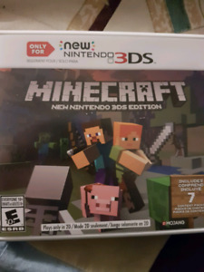 Minecraft for 3DS