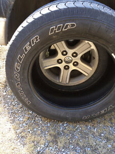 Four awesome summer tires for sale