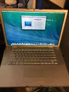 macbook pro early 2008 15 inch