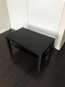 IKEA Black/Brown Coffee Table for Sale