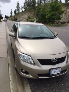 Great Condition 2009 Toyota Corolla