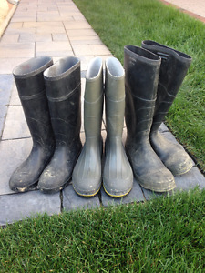 Assorted Work Boots for Sale (See Description)