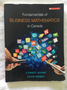 TEXTBOOK - Fundamentals of Business Mathematics - 2nd Ed