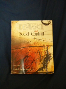 Deviance and Social Control - Deutschmann 4th ed.