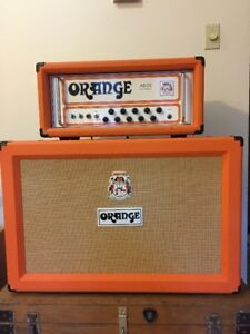 U.K. made Orange AD 30 amp and Cab F/T F/S