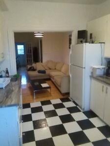 Chambre double dans appartement à partager