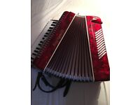 Stephanelli 72 Button Piano Accordion