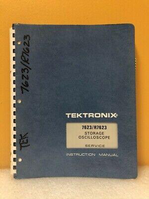 Tektronix 070-1465-00 7623r7623 Storage Oscilloscope Service Instruction Manual