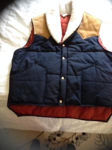 Vintage Western Look Vest