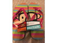 New Paul Franks Flip Flops size M/L - Open to Offers