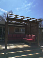 Spring is just around the corner! Call to get your deck built!