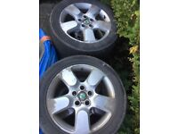 Set 4 alloys from Skoda Octavia scout 2007 225/50/17