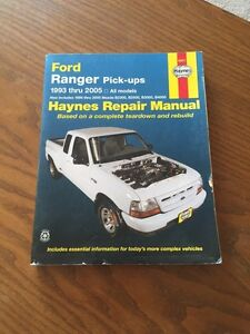 Haynes Repair Manual Ford Ranger 1993 thru 2005 GOOD SHAPE. London Ontario image 1