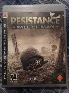 Resistance Fall of Man (PS3) Peterborough Peterborough Area image 1
