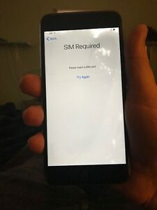 iPhone 6 Plus 16 gb small crack on screen