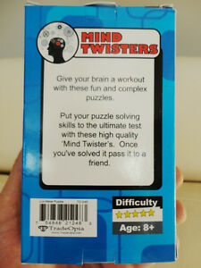 Mind Twister Lux Puzzle II -Difficulty 5/5 - Brand New Kitchener / Waterloo Kitchener Area image 2