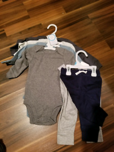 Carters New Baby Boy onsies and pants