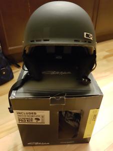 Smith Helmet with Audio Ear Pads