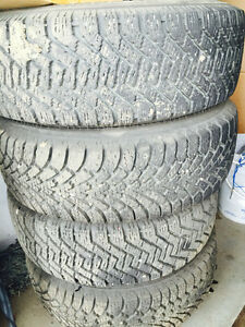 Slightly used Winter tires