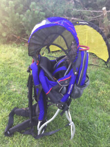 Hiking backpack child carrier