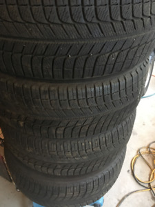 Michelin X-Ice3 215/55R17 en excellente condition