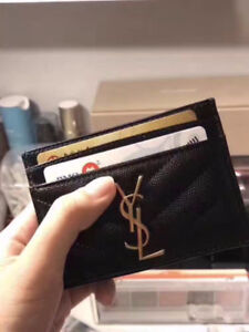 lost a YSL card holder
