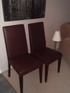 Dining Chairs 2/$35