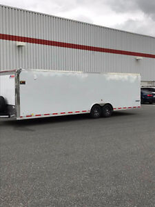 2018 28 Foot Pace Enclosed Car Trailer