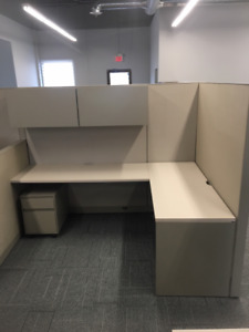"""Like New"" used Steelcase Workstations and office furniture"