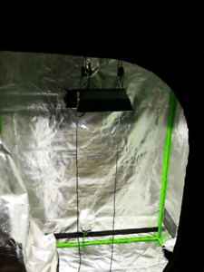 Grow tent and equipment