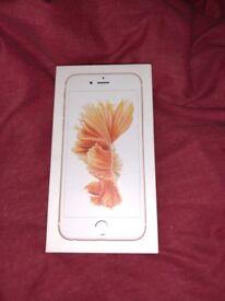 IPhone 6s box & Apple ear phone