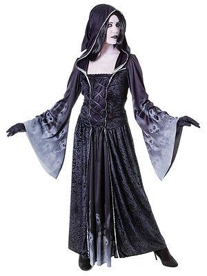 Forgotten Souls Ladies Fancy Dress Halloween Scary Spooky Undead Adults Costume