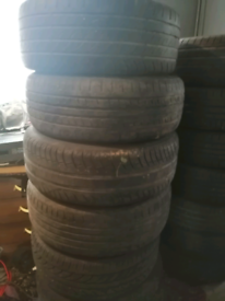 Part worn tyres various sizes makes and condition