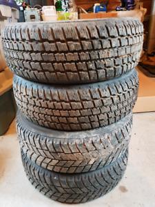 185/60R15 Winter Tires x4 (Cooper/Hankook)